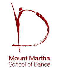 mt martha school of dance corporate identity branding logo